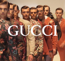Gucci . men fashion show . Spring Summer 2014