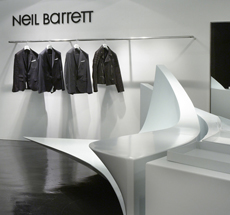 Neil Barrett . Shop in Shop