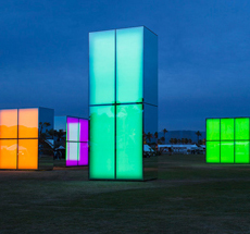 Phillip K Smith III . Coachella . California . USA