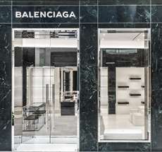 Balenciaga . Valley Fair . Santa Clara . California .USA