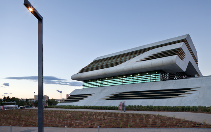Pierre Vives building . Montpellier . Zaha Hadid