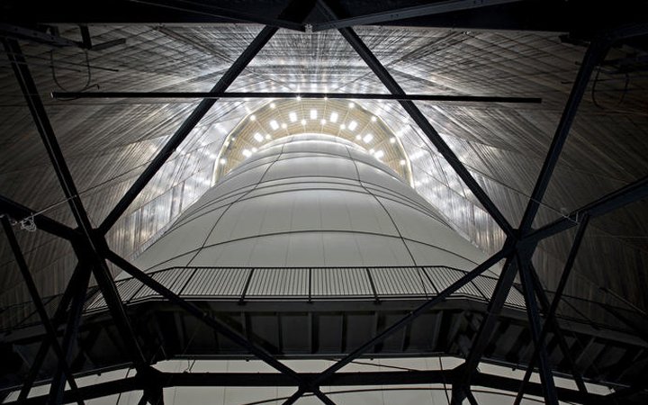 Christo and Jeanneclaude . Big Air Package . Gasometer Oberhausen . German