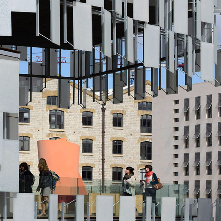 FRAC . Kengo Kuma & Associates . Marseille . France