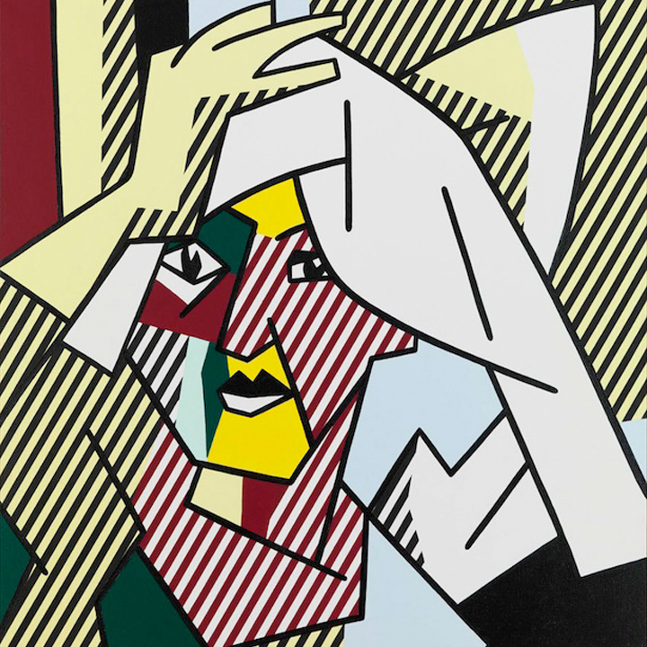 Roy Linchtenstein . Centre Pompidou . Paris . France