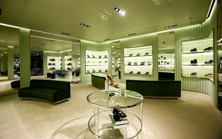 Prada Store . mall The Mixc . Nanning . China