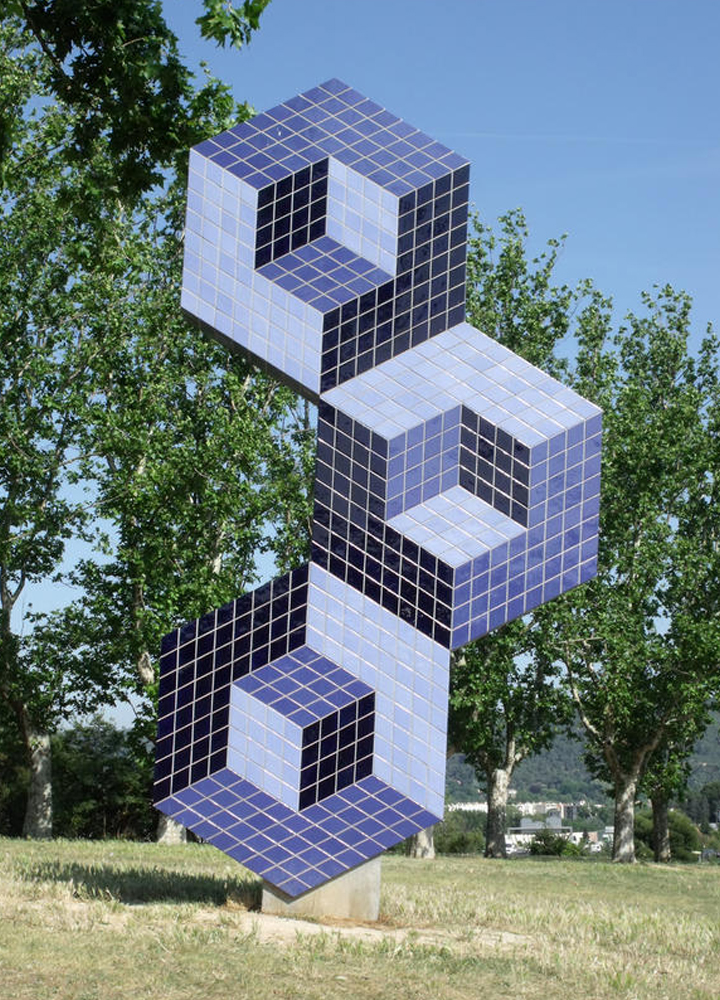Victor Vasarely . Fondation . Aix en Provence . France