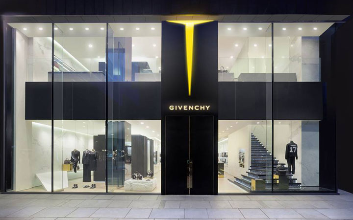 Givenchy concept stores