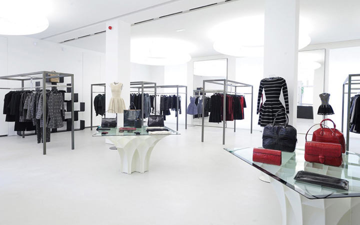 Azzedine Alaia boutique . Pierre Granger . Paris . France