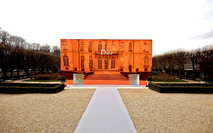 Dior . Rodin museum . Spring summer 2014
