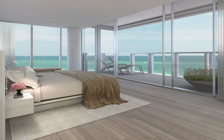 The residences at Miami Beach Edition . John Pawson