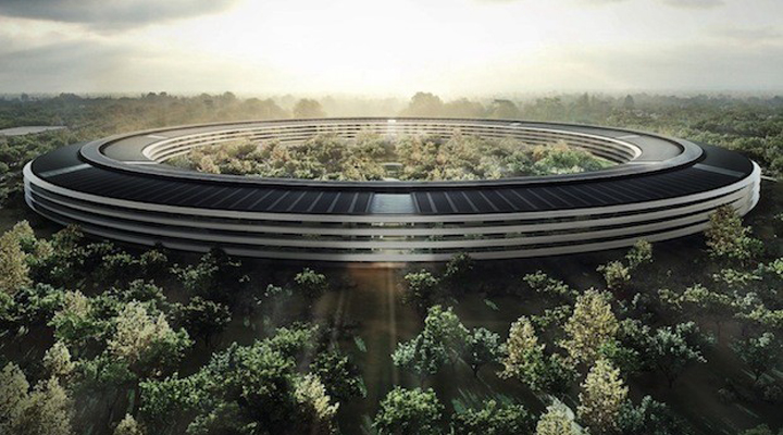 Apple Spaceship . Foster Partners . Cupernico . California . USA