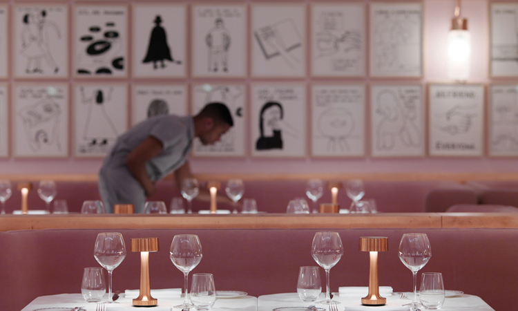 David Shrigley . Sketch Restaurant . London . England