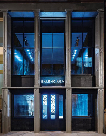 Balenciaga . Alexander Wang . Soho . New York . USA