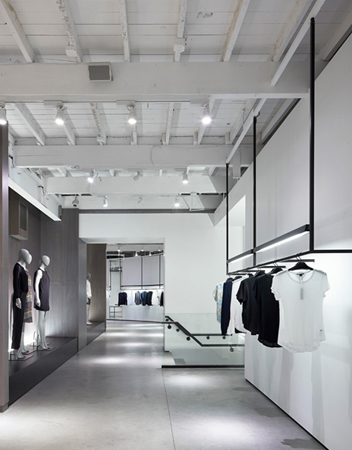 Nendo Theory store . Melrose . Beverly . USA