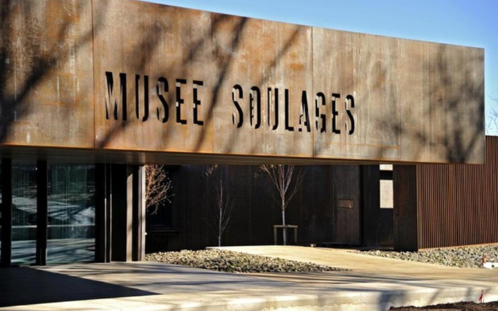 Pierre Soulages . Rodez . France