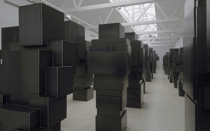 Antony Gormley . Second body . Galerie Thaddaeus Ropac