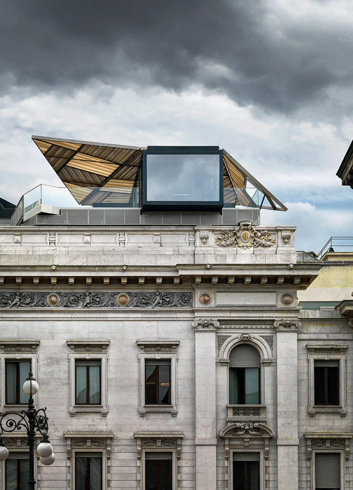 Park Associati . The-Cube pop-up restaurant . Milan . Italy