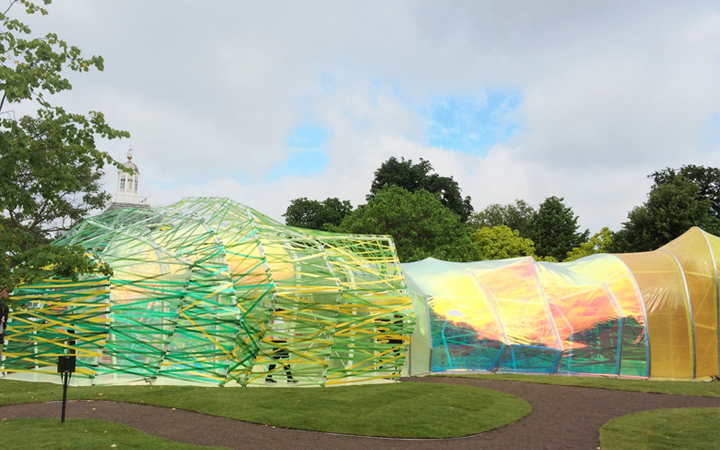 Serpentine Pavilion 2015 . SelgasCano . London