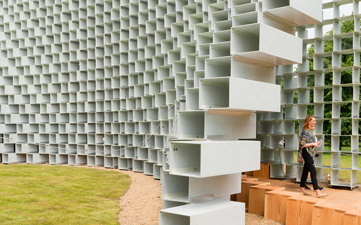 Serpentine Gallery Pavilion 2016 . London