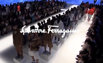 Salvatore Ferragamo . men fashion show . Spring Summer 2014