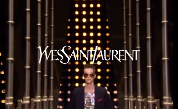 YSL . men fashion show . Spring Summer 2014
