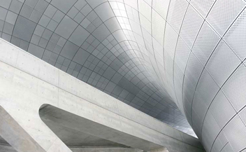 Dongdaemun Design Park Plaza . Zaha Hadid . Seoul . South Korea