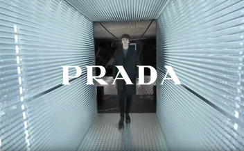 Prada . men & woman fashion show fall winter 2015