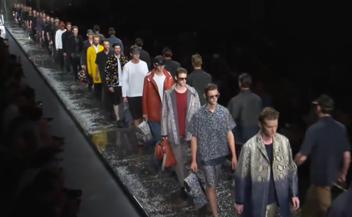 Fendi . man catwalk spring summer 2016