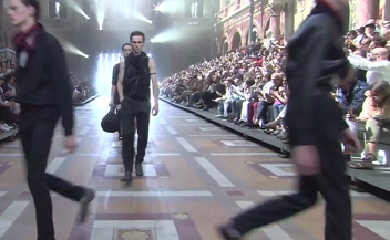 Lanvin . man catwalk spring summer 2016