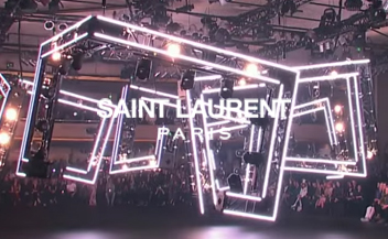 Saint Laurent . man catwalk fall winter 2016
